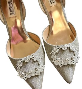Badgley Mischka Crystal Stiletto Luxury Embellished Formal