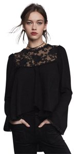 For Love & Lemons Long Top Black