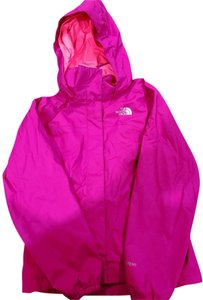 The North Face Girls Rain Hot Pink Jacket