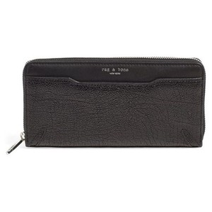 Rag & Bone New! Rag & Bone Textured Leather Continental Wallet