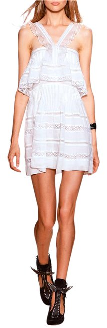 Item - White Runway Obira Broderie Anglaise 34 Short Casual Dress Size 2 (XS)