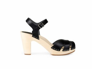 swedish hasbeens Suzanne Hasbeensandals Black Mules