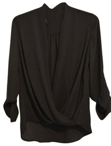 Pleione Nordstrom Top Black