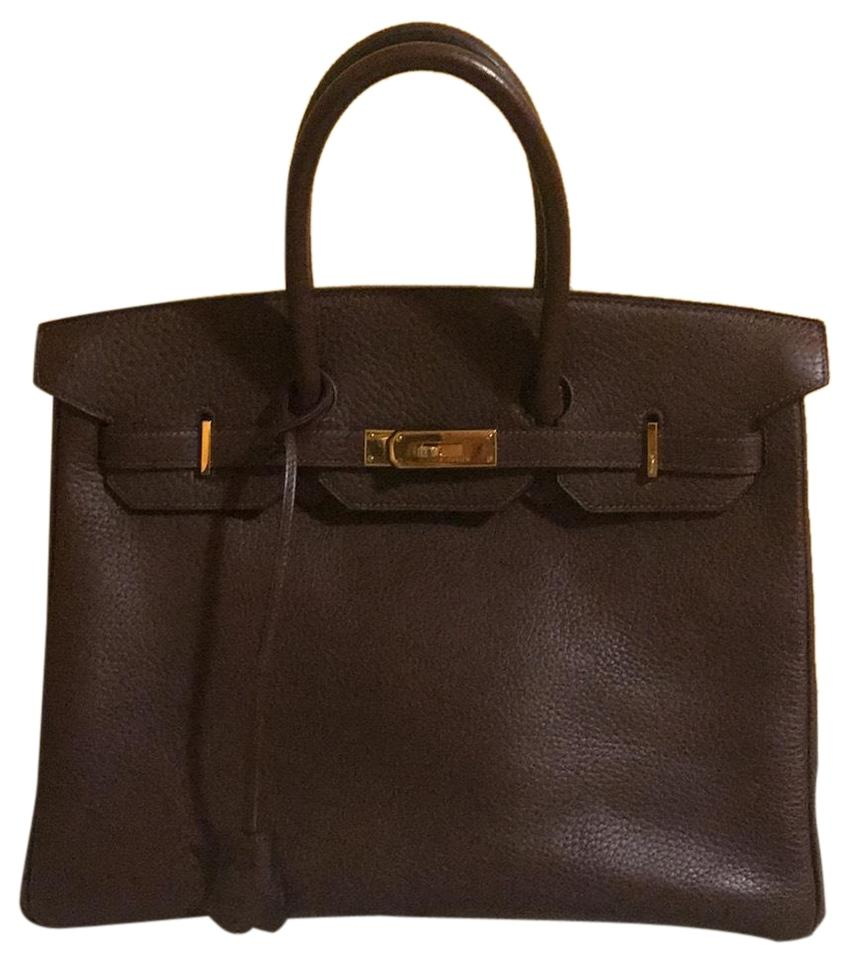 fd6efb78e8b Hermès Birkin 35 Fjord authentication Report Included  Fjord Satchel ...