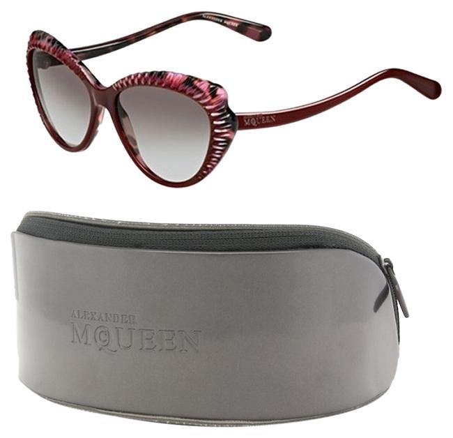Item - Pink Red Cateye Butterfly Wing with Case Sunglasses