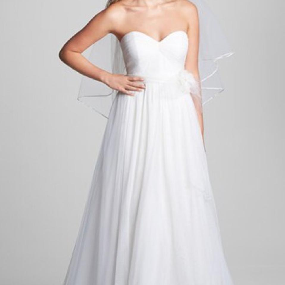 Jenny yoo 39 hathaway 39 rosette detail convertible tulle for Jenny beckman wedding dresses