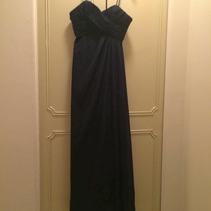 Bill Levkoff Navy Blue Bridesmaid Dress Dress