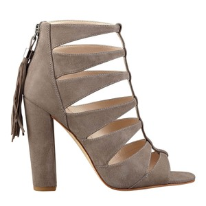 Marc Fisher Taupe Sandals
