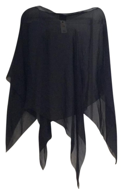 The Limited Sheer Pullover Black Top The Limited Sheer Pullover Black Top Image 1