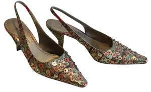 J. Renee Multi Colored Pumps