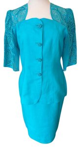 Anne French Short Sleeved Suit