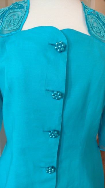Anne French Short Sleeved Suit Image 1