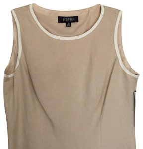 Kasper Top tan/cream