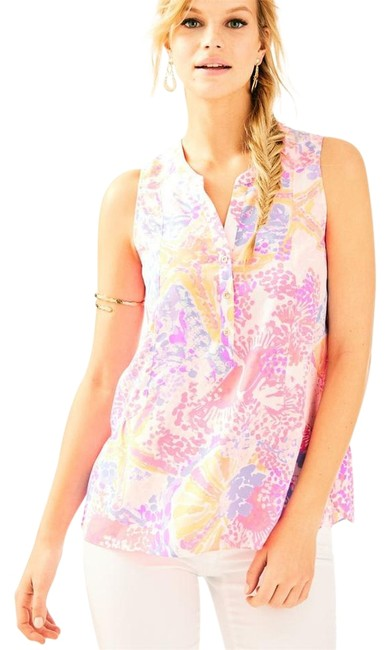 Lilly Pulitzer Top Pink Image 0