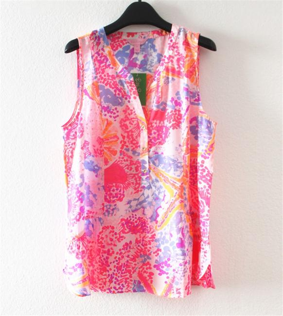 Lilly Pulitzer Top Pink Image 3