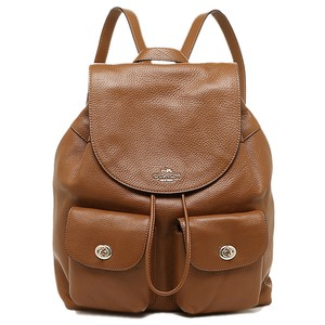Coach Billie School Tablet Saddle Backpack