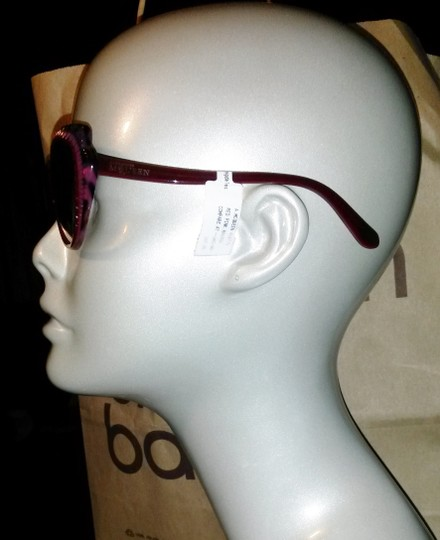 Alexander McQueen Pink Red cateye sunglasses Butterfly wing