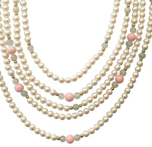 Lord & Taylor Lord & Taylor 5 strand pearl necklace set