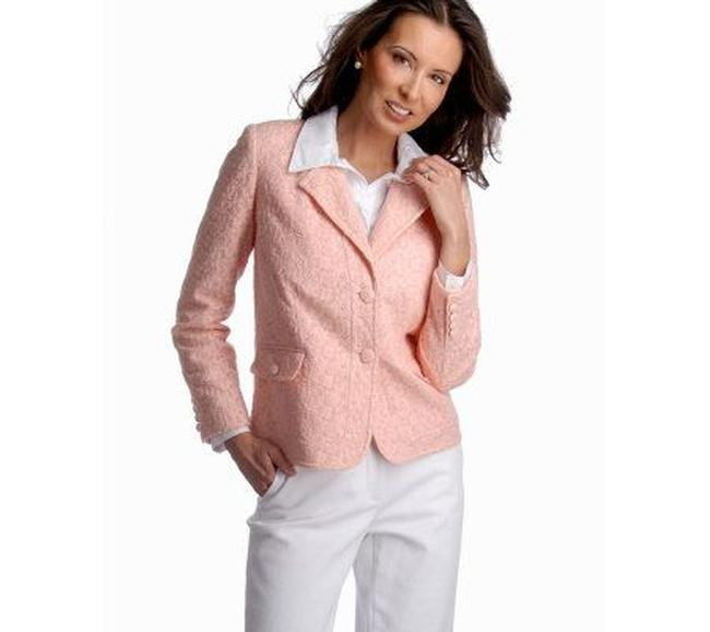 Dialogue Pink Jacket Image 1