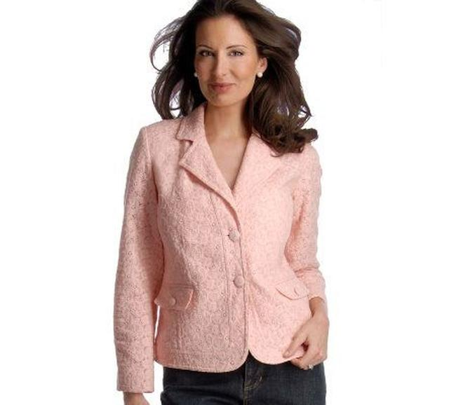 Dialogue Pink Jacket Image 5