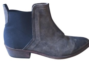 Free People Gray & black Boots
