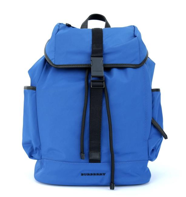 Item - Drifton Blue Nylon Backpack