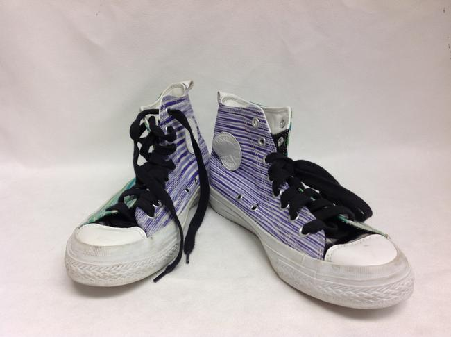 Missoni Multi Color For Converse High Top Sneakers Size US 10 Regular (M, B) Missoni Multi Color For Converse High Top Sneakers Size US 10 Regular (M, B) Image 1