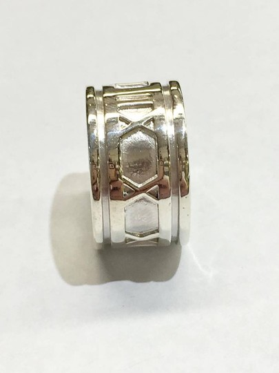 Tiffany & Co. BEAUTIFUL Tiffany & Co. Wide Atlas Ring Size 4.5 Sterling Silver Image 4