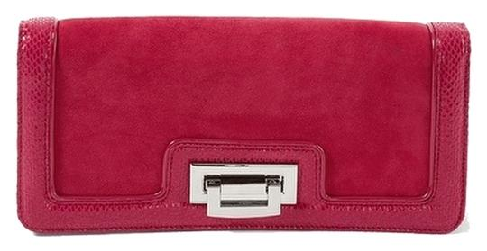 Preload https://item4.tradesy.com/images/white-house-black-market-snake-embossed-red-suede-leather-clutch-2115893-0-0.jpg?width=440&height=440