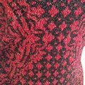 Rock & Republic Red Black Knit Print Short Casual Dress Size 8 (M) Rock & Republic Red Black Knit Print Short Casual Dress Size 8 (M) Image 5