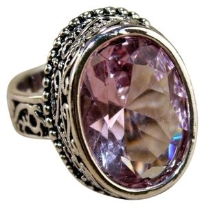 Other Blush Pink Gemstone Ring, Size 8