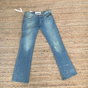 BNWT JOE'S Jeans Light Wash The Socialite Size 27 Straight Leg Jeans-Distressed