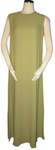 Green Maxi Dress by Eileen Fisher Fisher Long Silk Size M