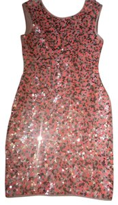 H&M Sequin Fitted Dress