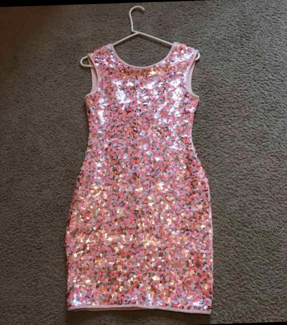 H&M Sequin Fitted Dress Image 3