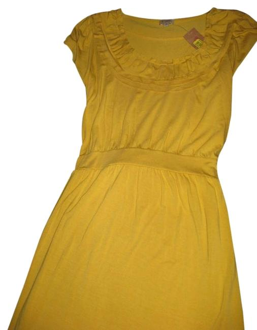 Preload https://img-static.tradesy.com/item/2115911/daniel-cremieux-yellow-color-above-knee-short-casual-dress-size-8-m-0-1-650-650.jpg