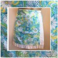 Lilly Pulitzer Blue & White Skirt Size 8 (M, 29, 30) Lilly Pulitzer Blue & White Skirt Size 8 (M, 29, 30) Image 4