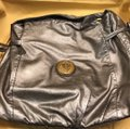 Gucci Hysteria Top Handle Pewter Leather Hobo Bag Gucci Hysteria Top Handle Pewter Leather Hobo Bag Image 11
