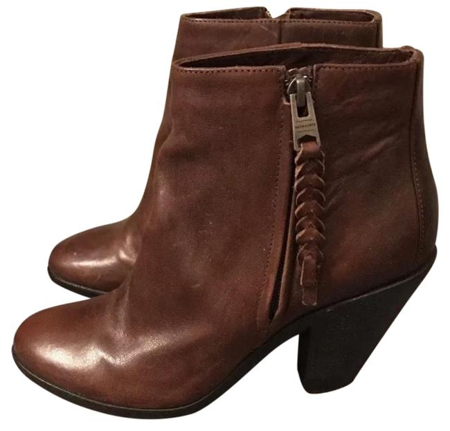 AllSaints Brown Leather Boots/Booties Size US 9 Regular (M, B) AllSaints Brown Leather Boots/Booties Size US 9 Regular (M, B) Image 1