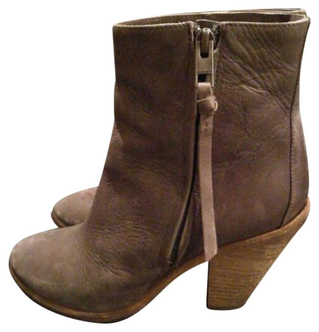 AllSaints Grey Boots/Booties Size US 9 Regular (M, B) AllSaints Grey Boots/Booties Size US 9 Regular (M, B) Image 1
