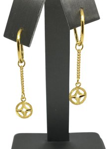 Other 24K Solid Gold Dangling Earrings