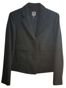 Anne Klein Professional Suit Jacket Black Forest Blazer