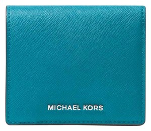 Michael Kors Michael Kors Leather Carryall Card Case coin wallet (Missing tag)