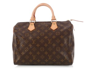 Louis Vuitton Lv.l0220.08 Monogram Speedy 30 Satchel
