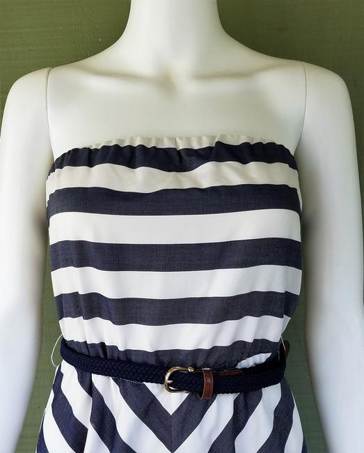 Outback Red short dress Blue, white Striped Strapless Belt on Tradesy Image 1