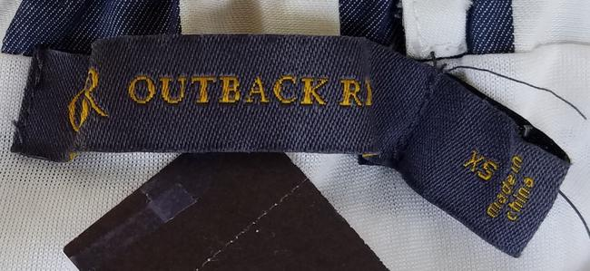 Outback Red short dress Blue, white Striped Strapless Belt on Tradesy Image 3