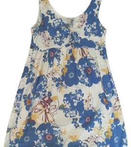 As U Wish short dress white, floral on Tradesy