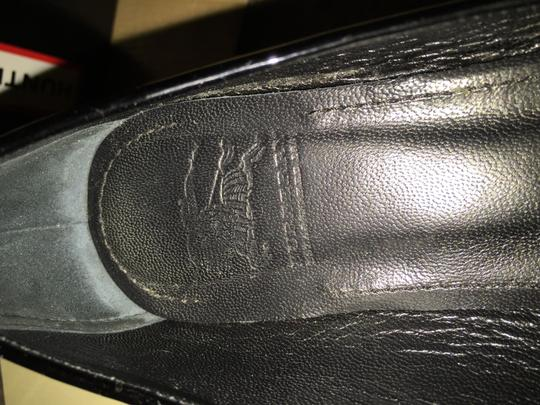 Burberry Made In Italy Black patent Flats