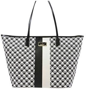 Kate Spade Tote in Black / White