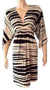 Rachel Pally short dress Caftan Mini Striped on Tradesy